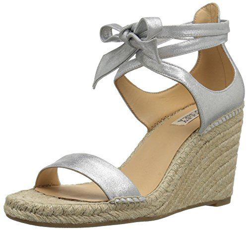 0dc385f31d8 badgley mischka womens berkley espadrille wedge sandal silver ...