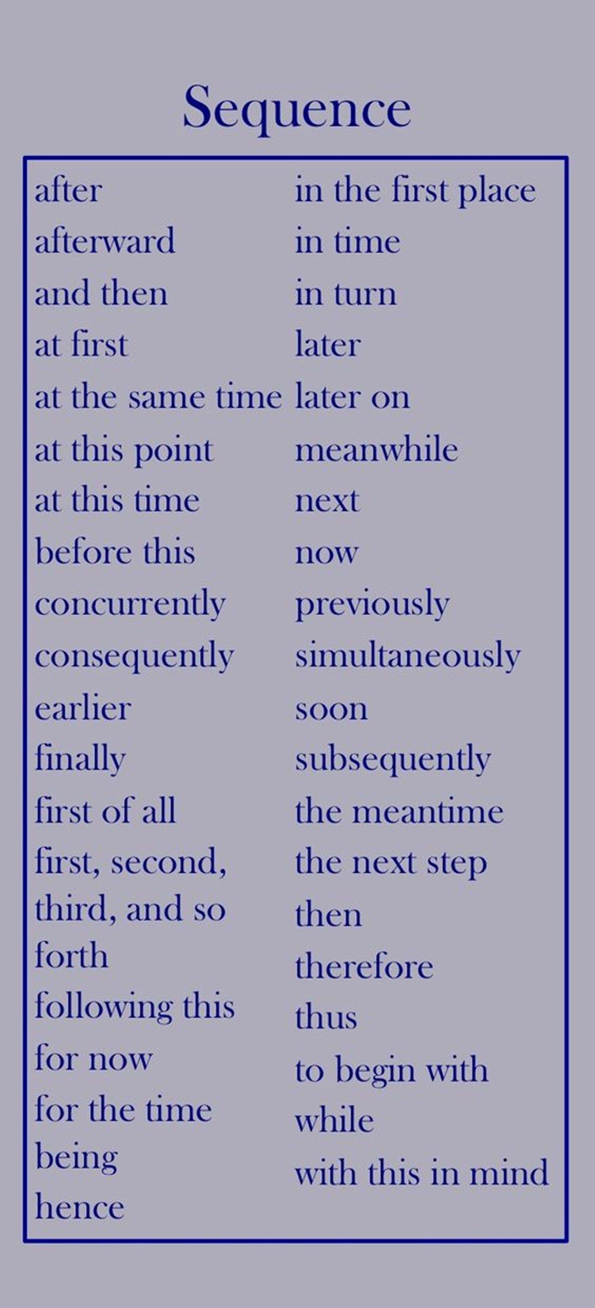 useful vocabulary for essay writing
