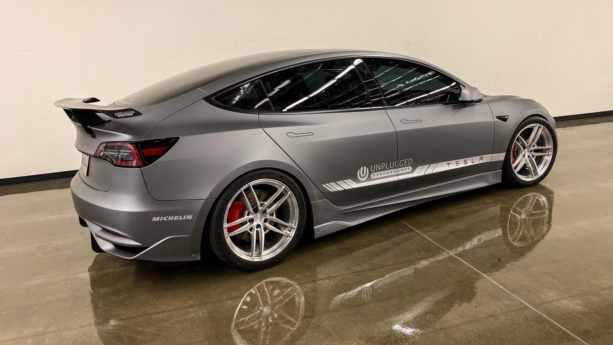 Tesla Model 3 Ascension R kit #teslamodel3 #teslamodified ...