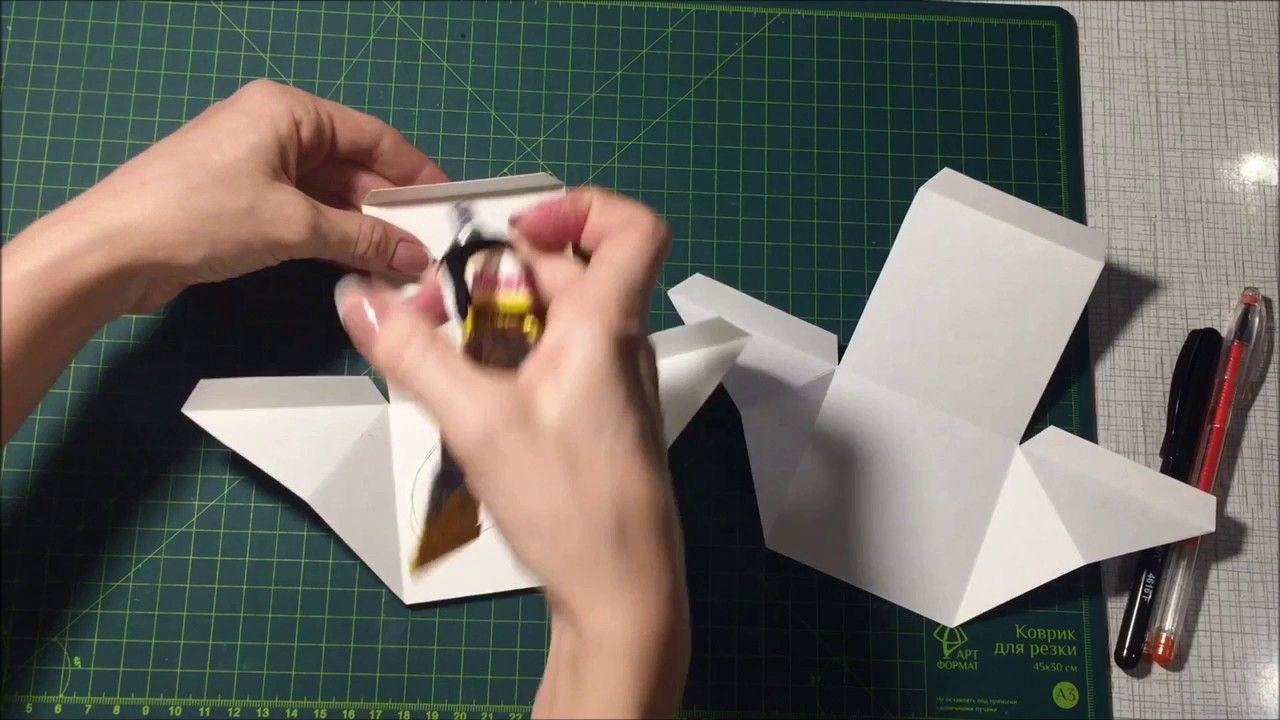 Выпрыгивающая открытка куб