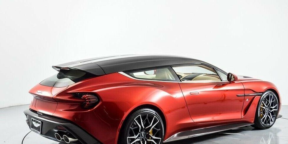 The Vanquish Zagato Shooting Brake Is The Coolest Aston Martin Shooting Brake Aston Martin Vanquish