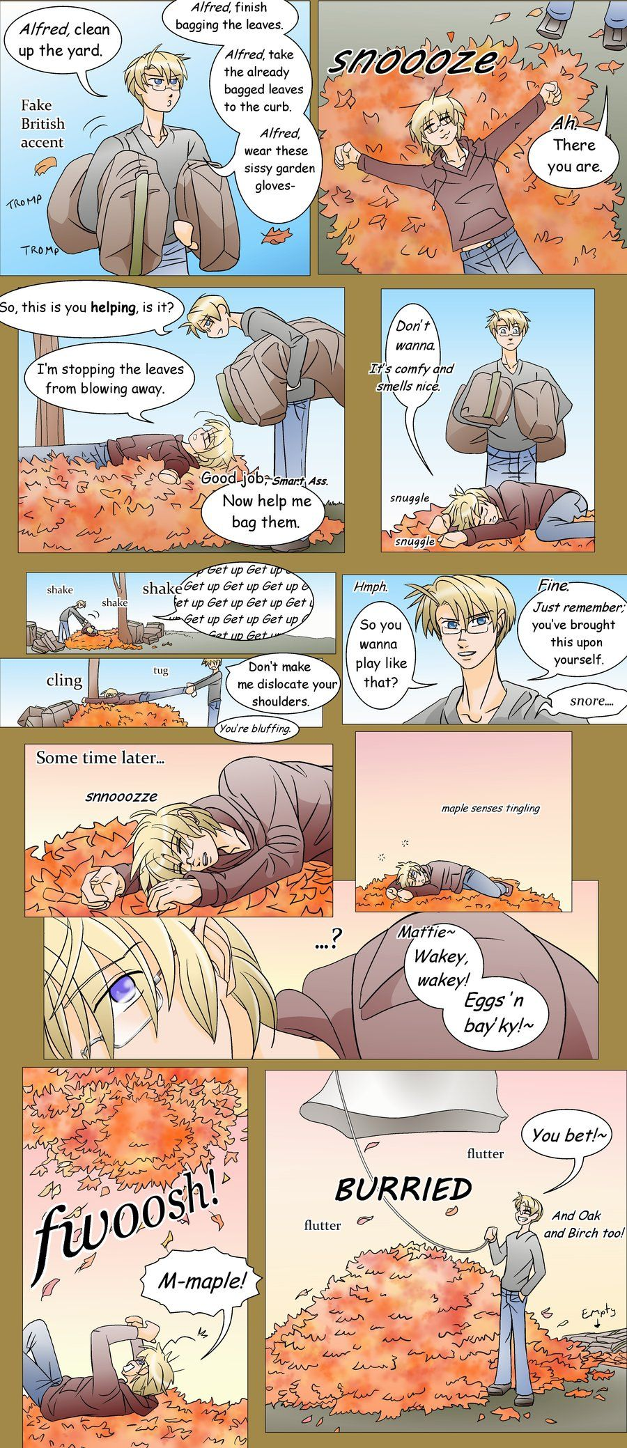 APH-Leaf Warfare pg 1 by TheLostHype.deviantart.com on @deviantART