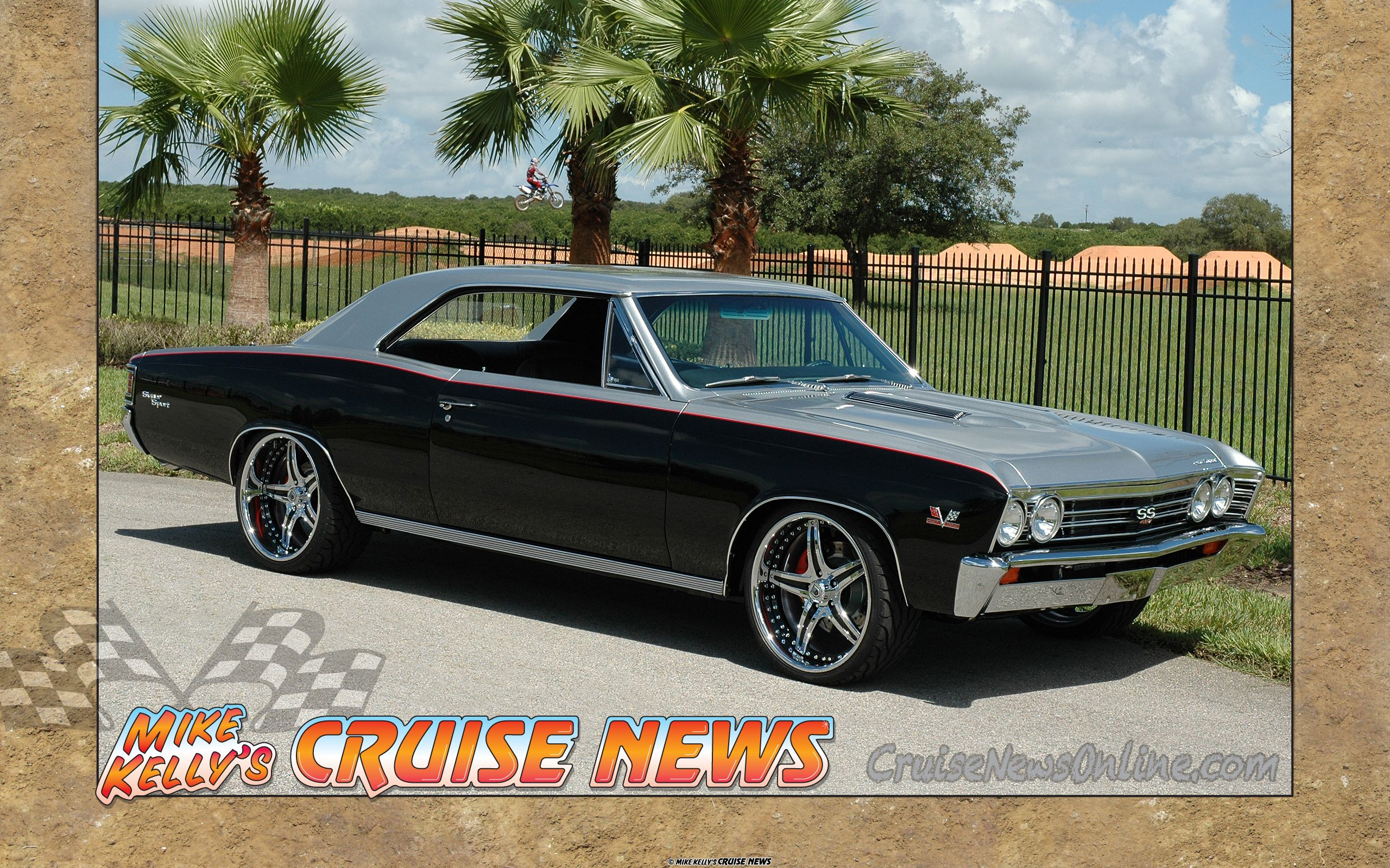 James stewart s 1967 chevy chevelle ss silver black red asanti af144 wheels 5 star http
