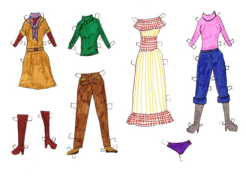 Påklædningsdukker tegnet af børn. Paper Dolls drawn by children - Karen Bisgaard Petersen - Picasa Webalbum