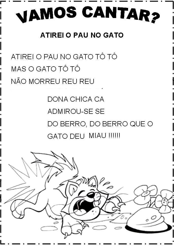 Pin De Marcilene Vieira Em Lembrancinha Da Escola Cantigas De