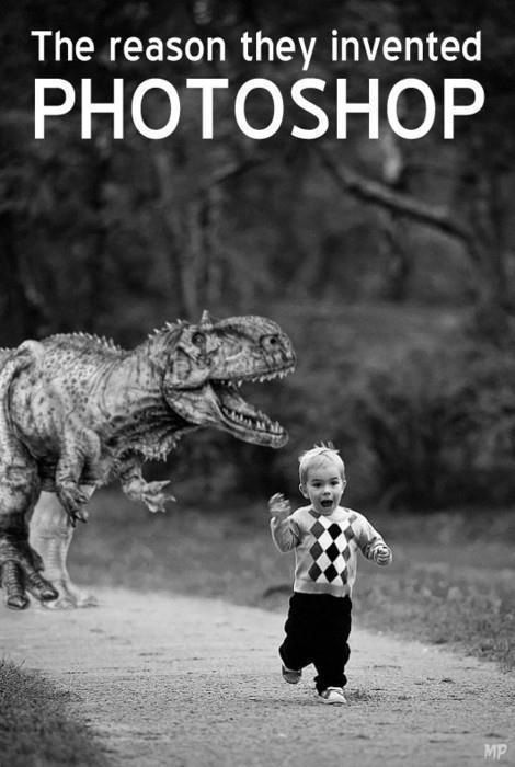 Wait Are You Telling Me That S Not A Real T Rex Chasing Down That Kid Wow Could Have Fooled Me Funny Monday Memes Monday Humor Funny Pictures
