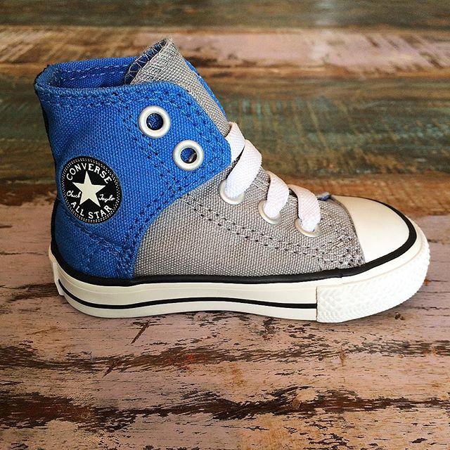 109d3a07407 BOYS • The last of our seasonal dolphin blue Converse easy slip Chuck  Taylor high tops