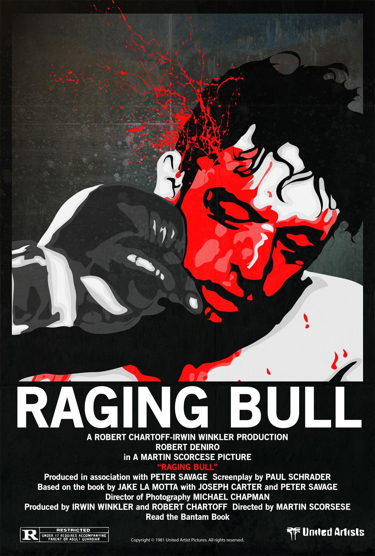raging bull poster raging bull