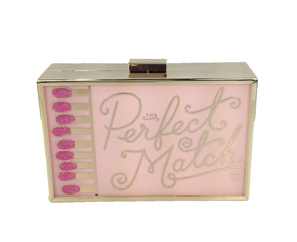 Kate Spade \'Perfect Match\' Matchbook Box Clutch, Pink Multi ...
