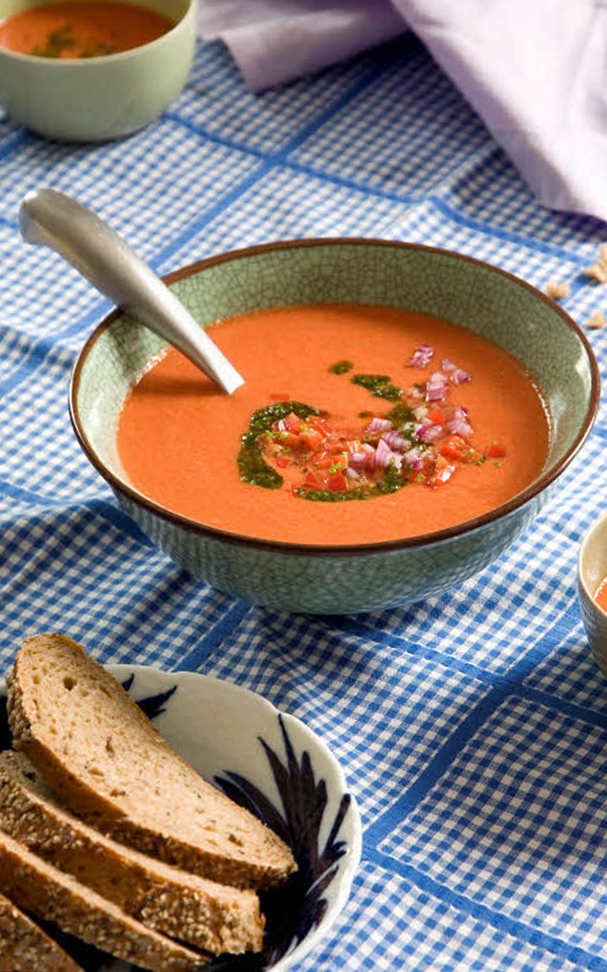 Gaspacho de pastèque Recette Recette pasteque, Recette