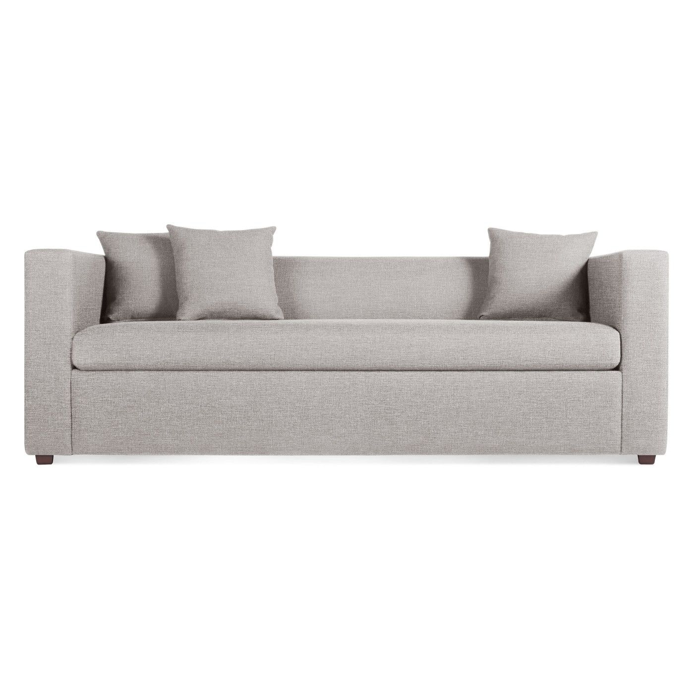 Mono Sleeper Sofa Spitzer Grey Chris nyc Pinterest