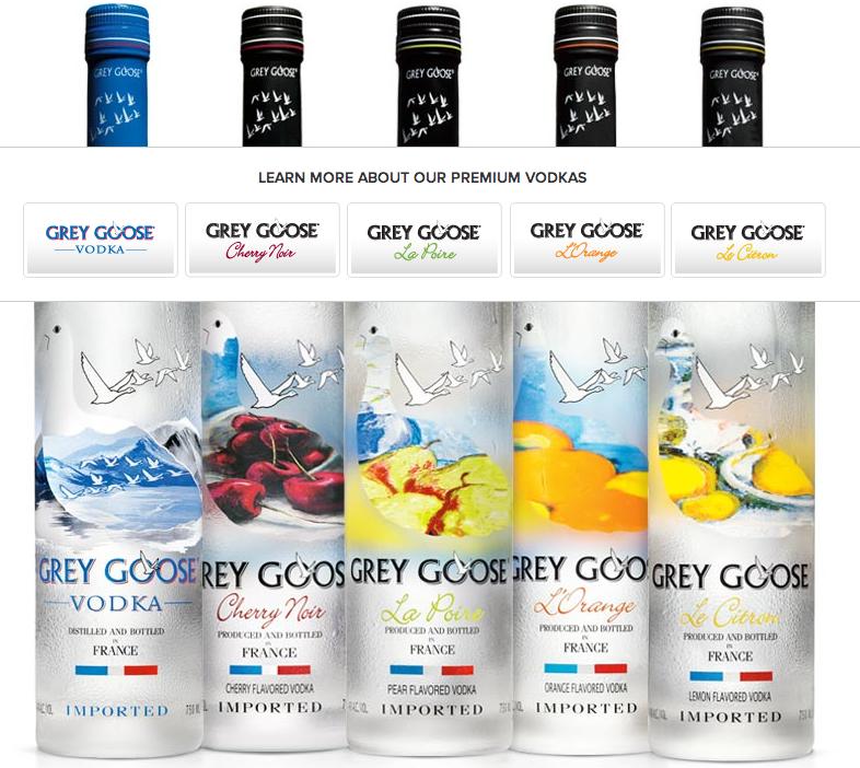 That Grey Goose Doesn T Actually Speak French Premium Vodka Grey Goose Vodka Pinnacle Vodka Flavors