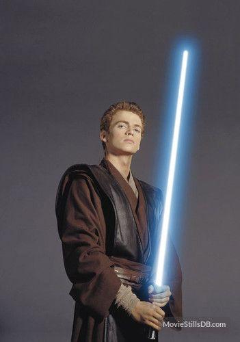 Star Wars Episode Ii Attack Of The Clones Promo Shot Of Hayden Christensen Star Wars Episode Ii Star Wars Background Star Wars Men