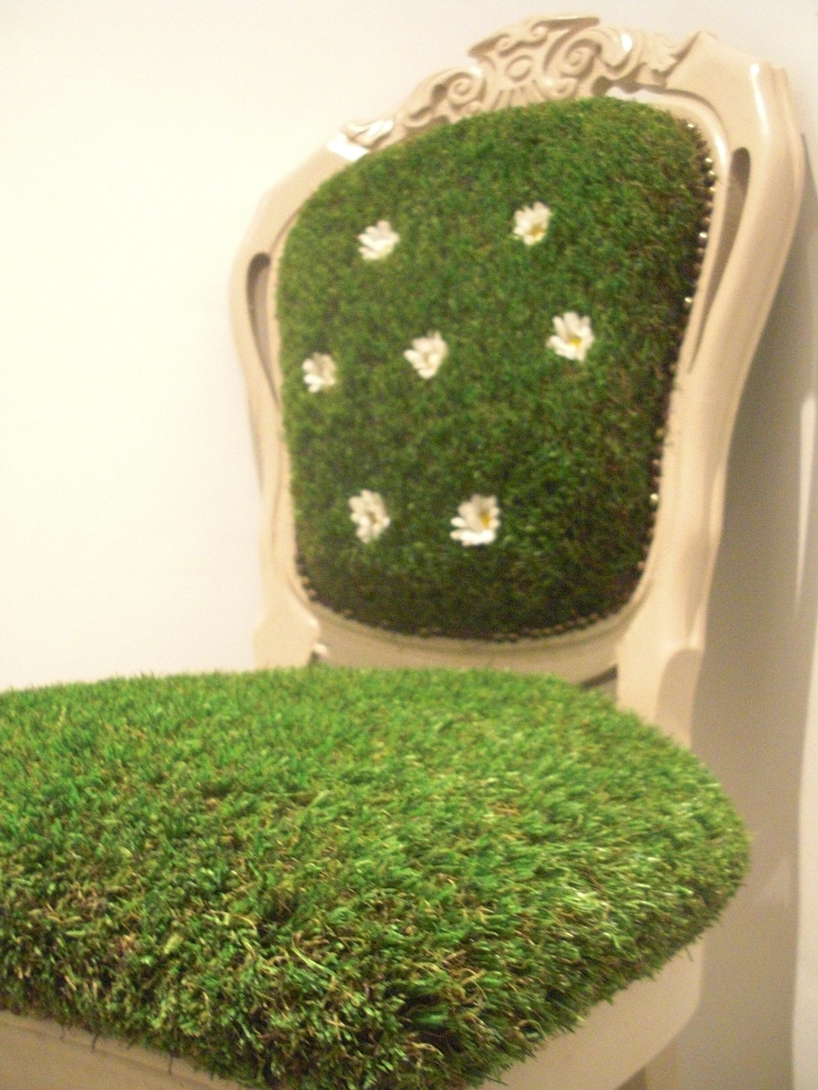 Grass chair This is a chair I bought from a second hand shop I