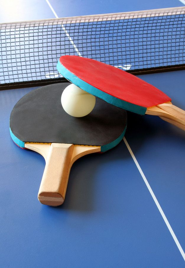 Rackets and ping pong table Premium Phot... | Premium Photo #Freepik #photo #wood #icon #sport #fitn...
