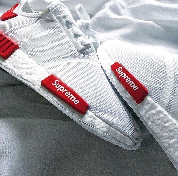 Supreme x Adidas Originals NMD R1⚪️