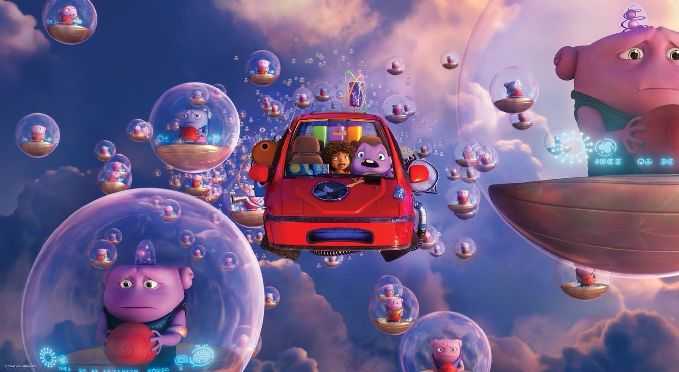 tip oh in her boov powered flying car dreamworks home mikeys rh pinterest com