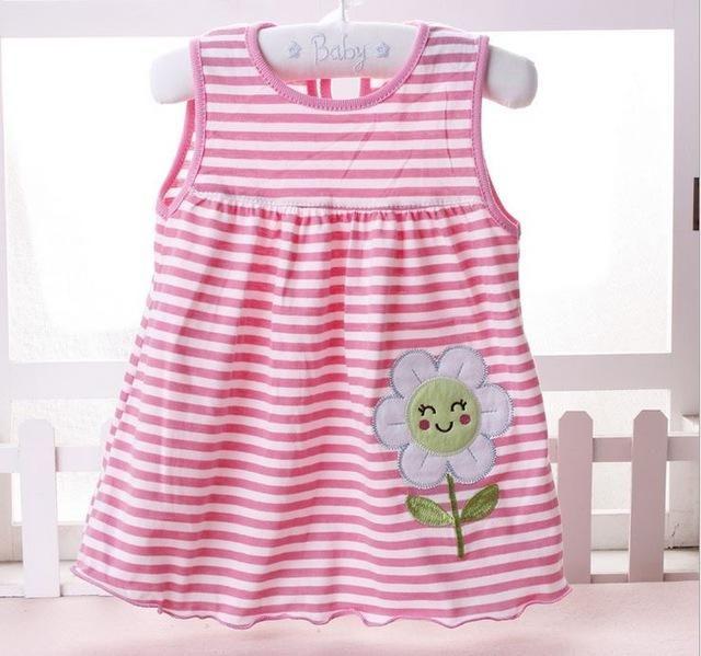 6722673ee309 Baby girl Dress 2017 summer girls dresses style infantile Dress hot ...