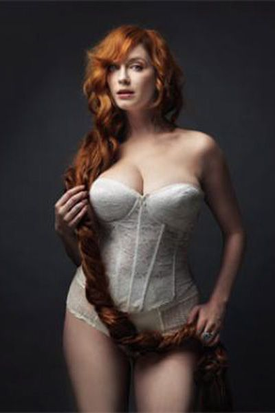 Christina hendricks natural redhead