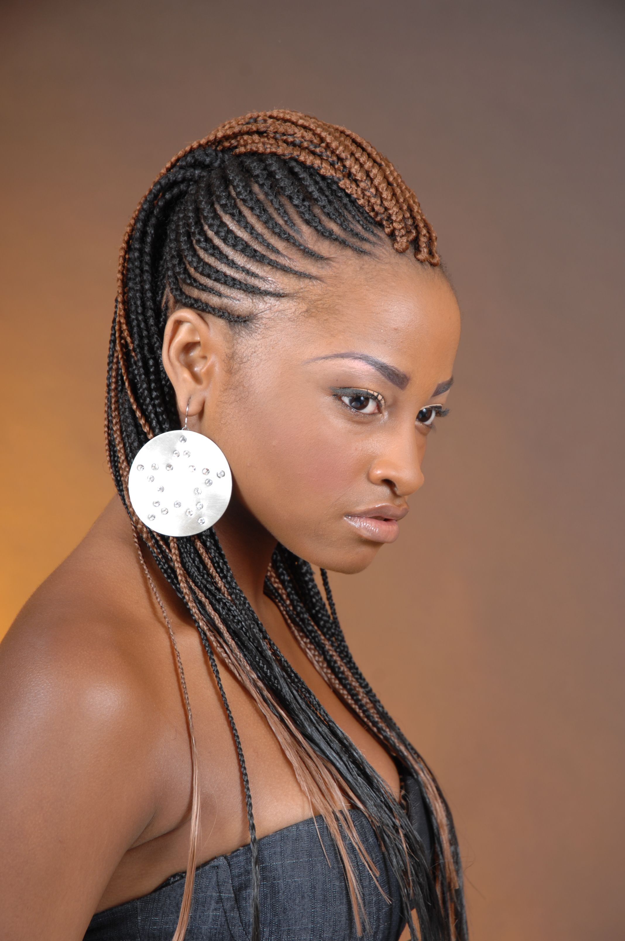 Cornrow mohawk corn row hairstyles pinterest black women