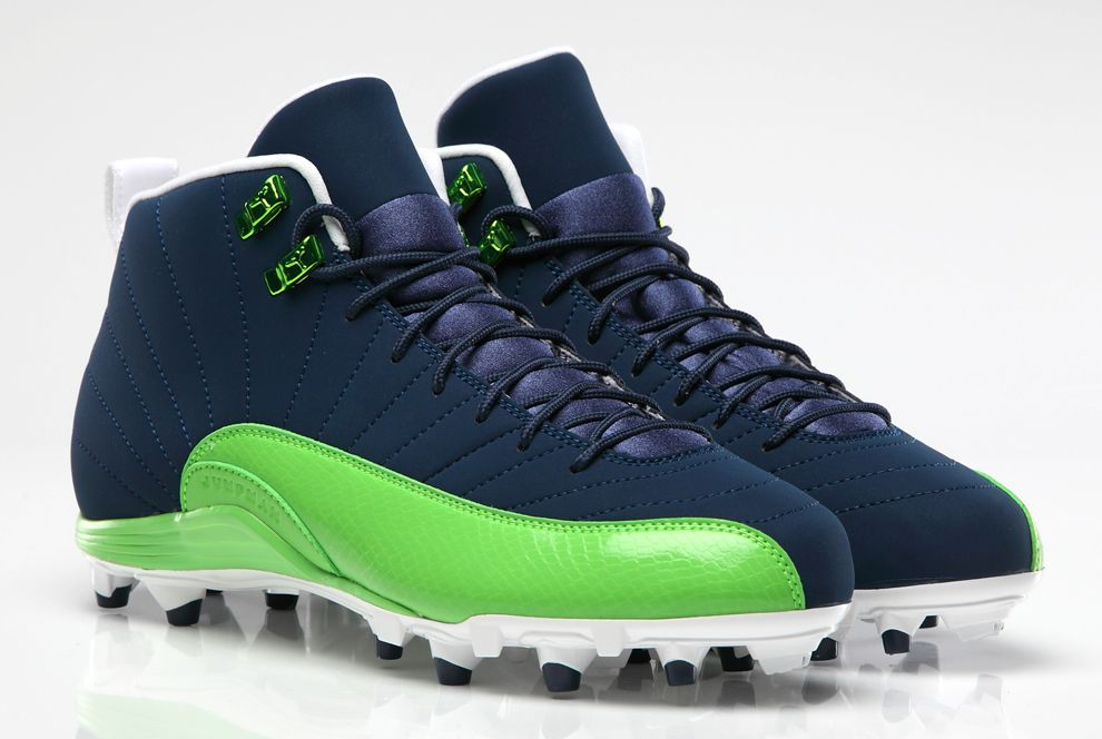 d8caaada7 Air Jordan XII (12) Football Cleats