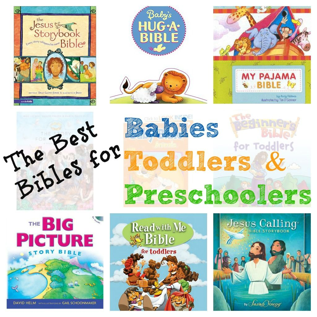 The best bibles for babies toddlers preschoolers easter include a new bible in your childs easter baskets here are our favorites for babies negle Image collections