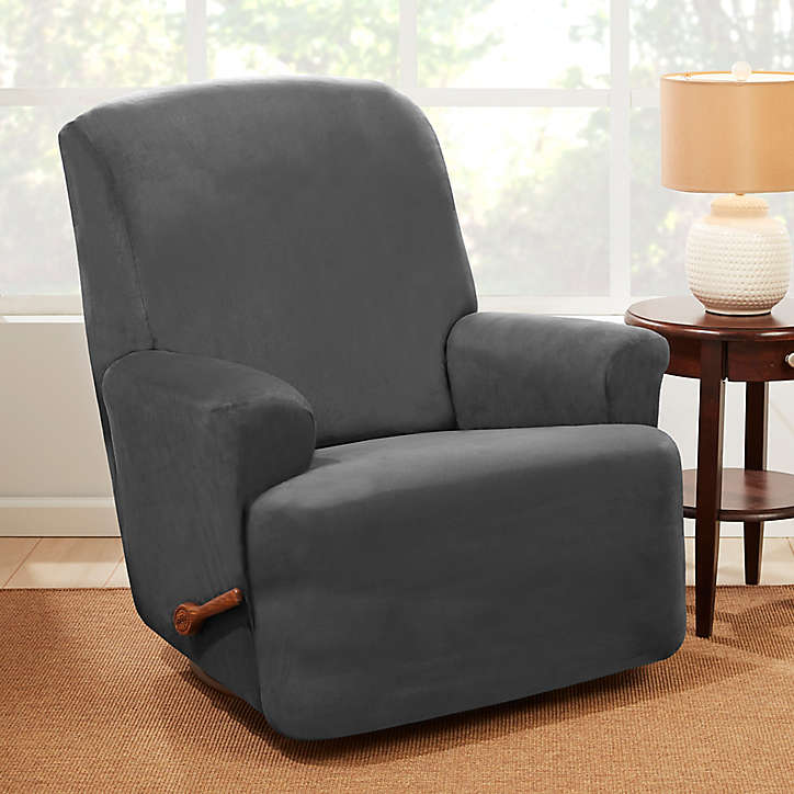 Sure Fit Wing Chair Slipcover Bed Bath Beyond Slipcovers For Chairs Slipcovers Recliner Slipcover
