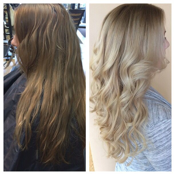 Neutralize Her Root And Color Melted In Very Pale Blonde Iced Out Come See Me At Sun Spa Salon In Middle Town Ny 342 6655 Hair Pale Blonde Long Hair Styles