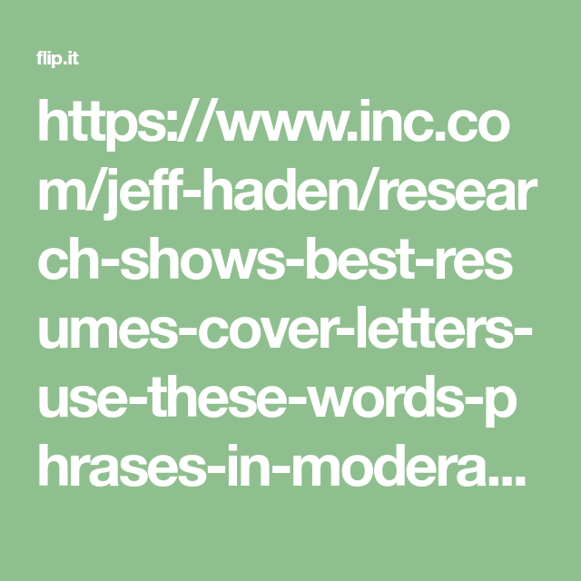 Resume Phrases To Use Stunning Httpswww.incjeffhadenresearchshowsbestresumescover .