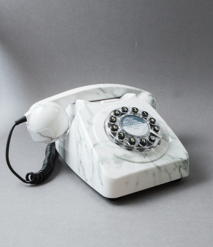 icon 60 telephone white marble cool stuff telephone home rh pinterest com