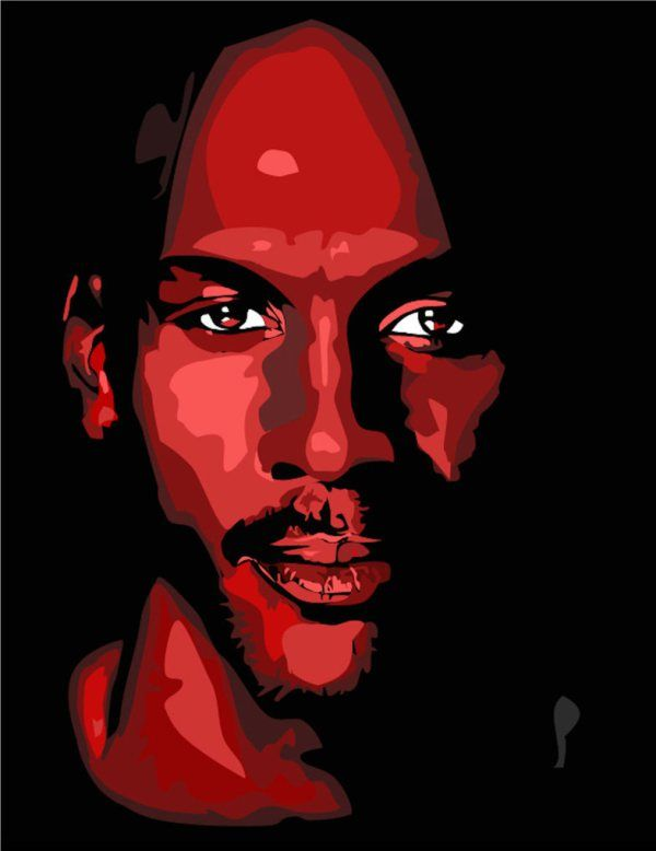 jordan en imagenes michael jordan vector portrait and pop art