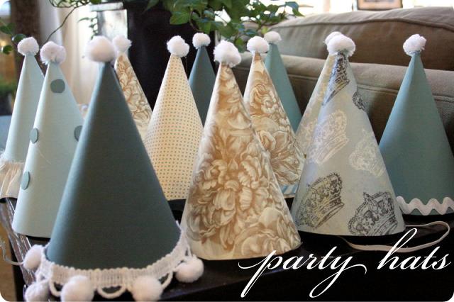 Birthday Party Hats - Tutorial