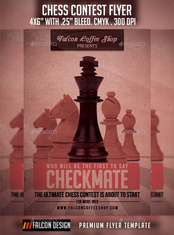 Chess Competition Flyer Event flyers, Font logo and Fonts - competition flyer template