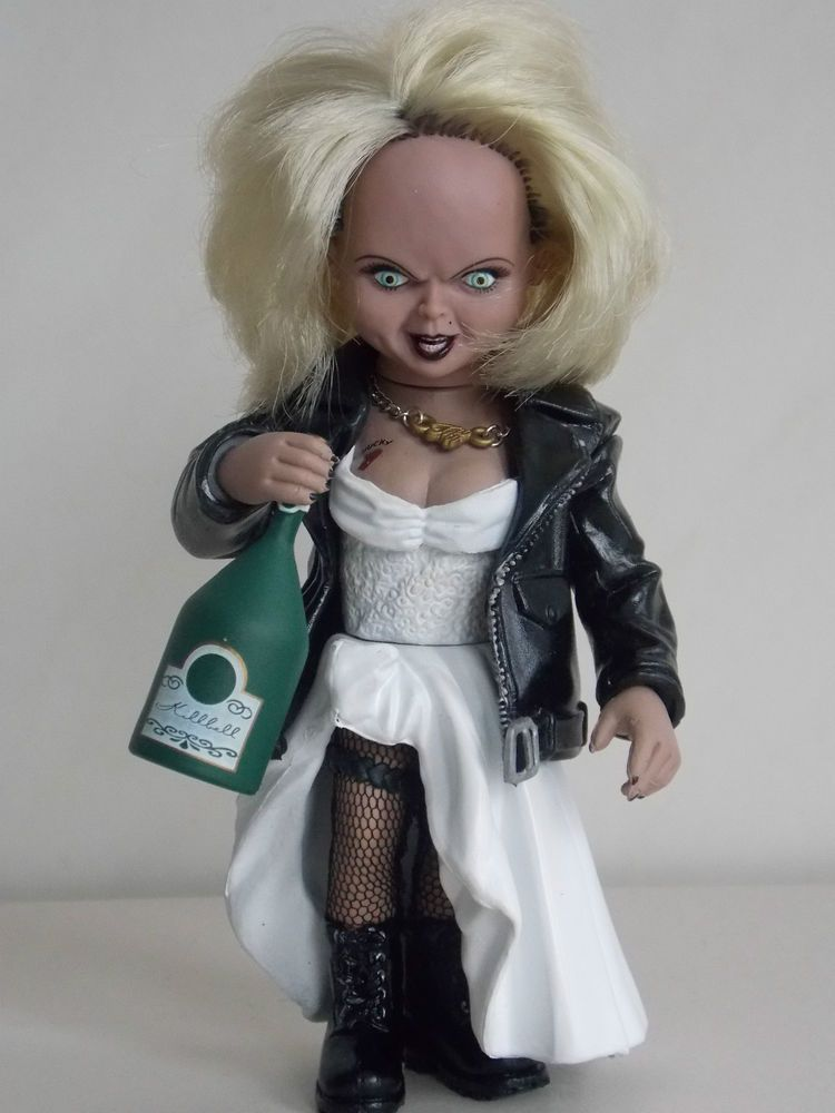Mcfarlane 1999 Rare Bride Of Chucky Tiffany Figure Doll Bride Of Chucky Bride Of Chucky Costume Cute Couples Costumes