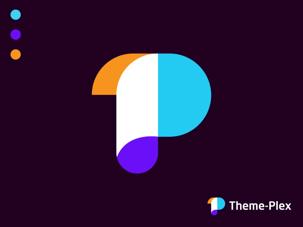 Modern Theme Plex Logo Design Logo Design Logos Design