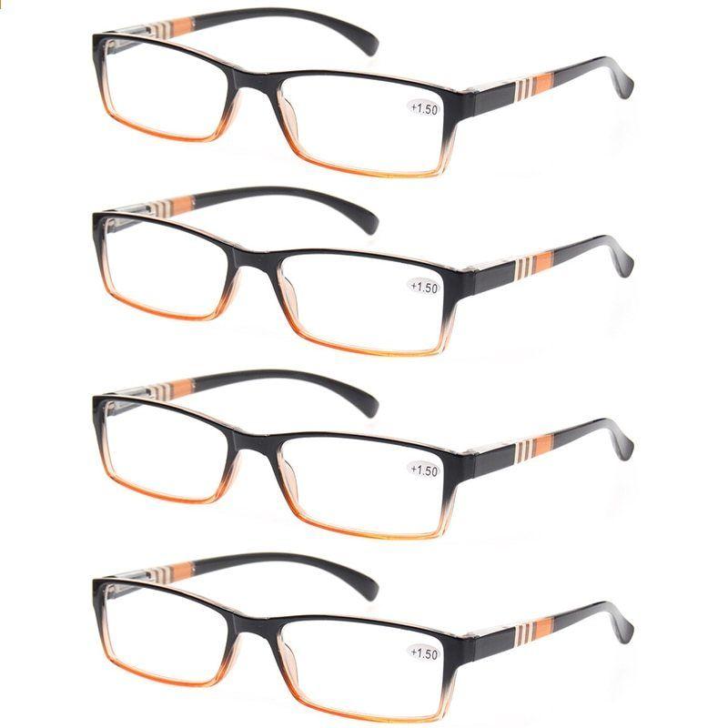 Läs glasögon mode metall halvram glasögon retro rund ram män och kvinnor  läs glasögon klar lins brun lins grå lins 481ce241c6e6b
