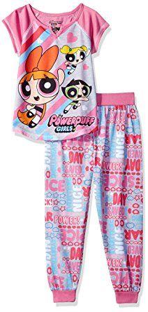 Powerpuff Girls Big Girls  Power Puff 2pc Sleepwear Set  b50ede7e5