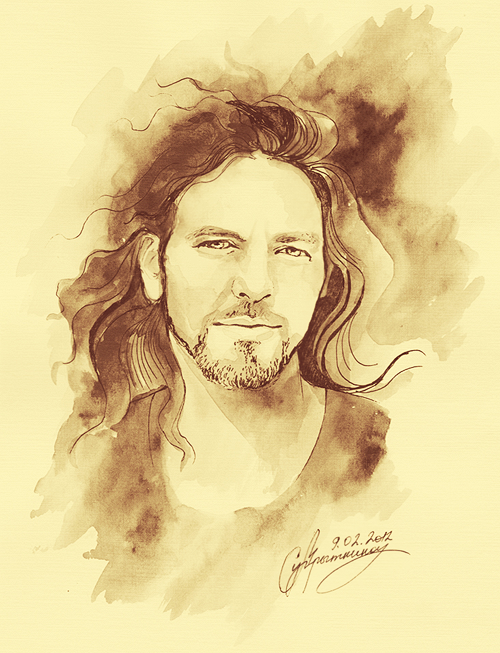 Eddie Vedder Jesus Messiah Pbuh Will Listen To Music And He Will Be A Very Extroverted Person Who Likes Having Fun You Will S Eddie Vedder Artist Pearl Jam