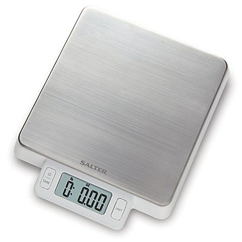 Salter High Precision Stainless Steel Digital Kitchen Food Scale in