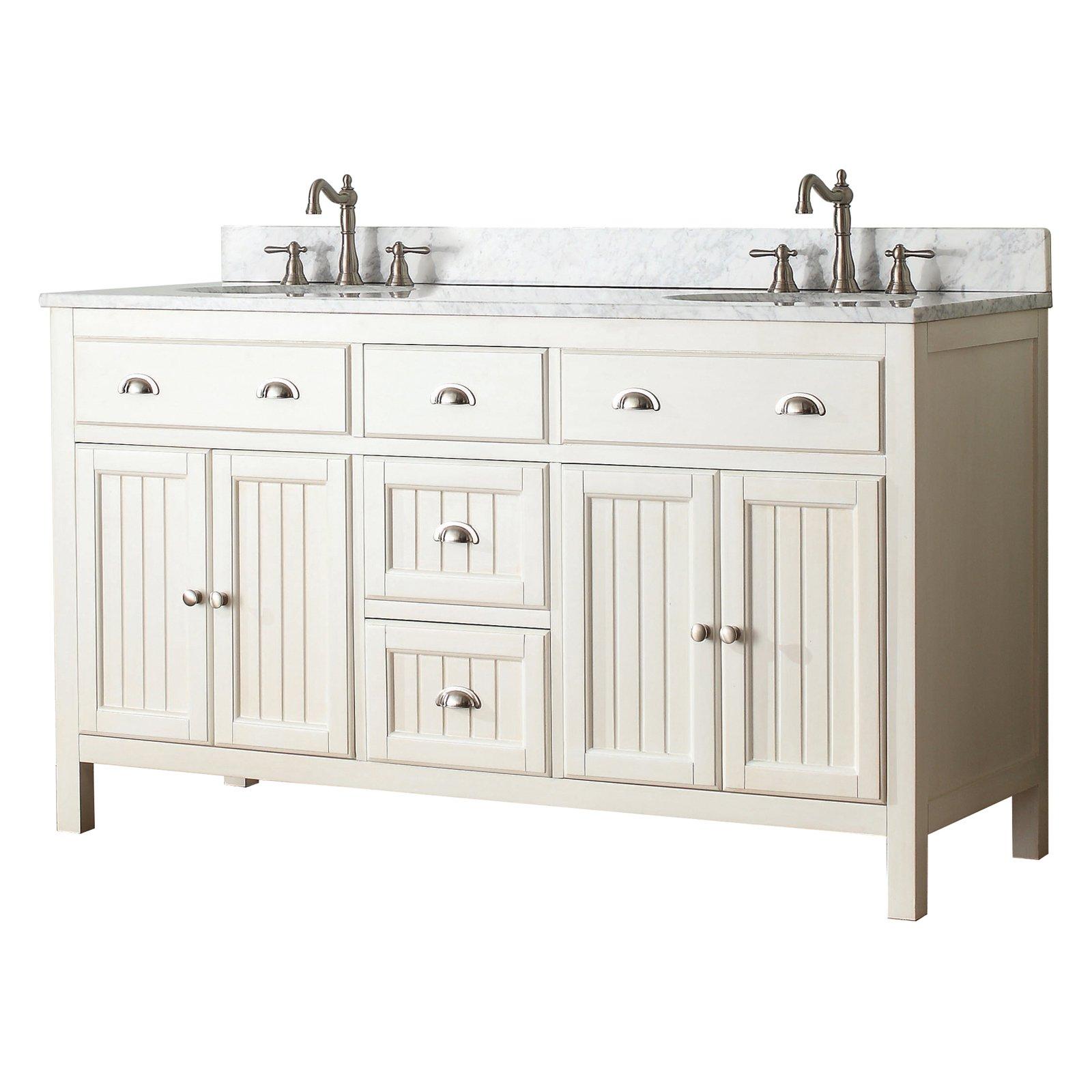 avanity hamilton vs60 fw hamilton 60 in double bathroom vanity rh pinterest com