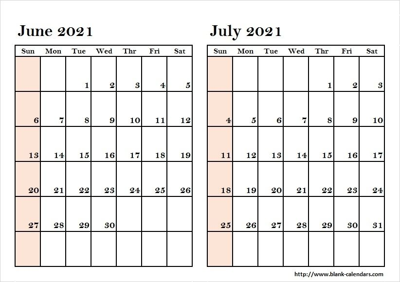 May June July 2021 Calendar in 2020 | August calendar, November