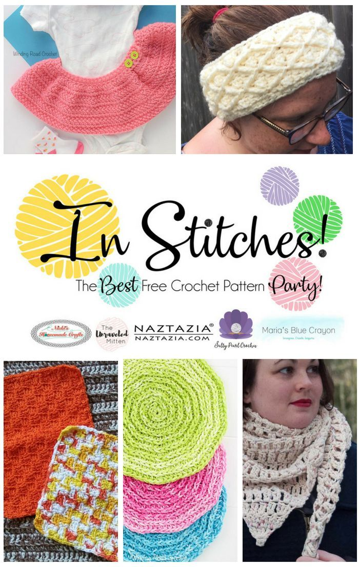 In Stitches #17: The Best Free Crochet Pattern Party | Crafty ...