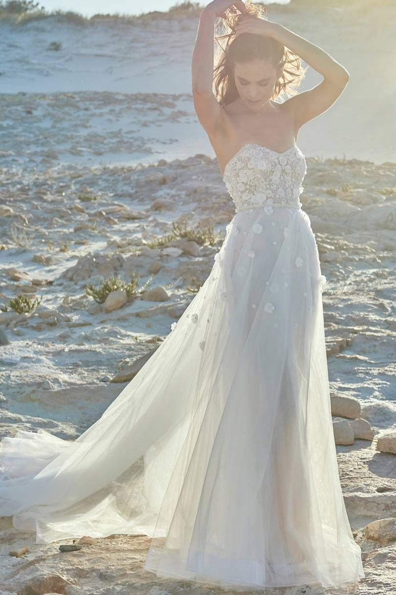 Relaxed beach wedding   Romantic Beach Wedding Dresses  Wedding Dresses  Pinterest