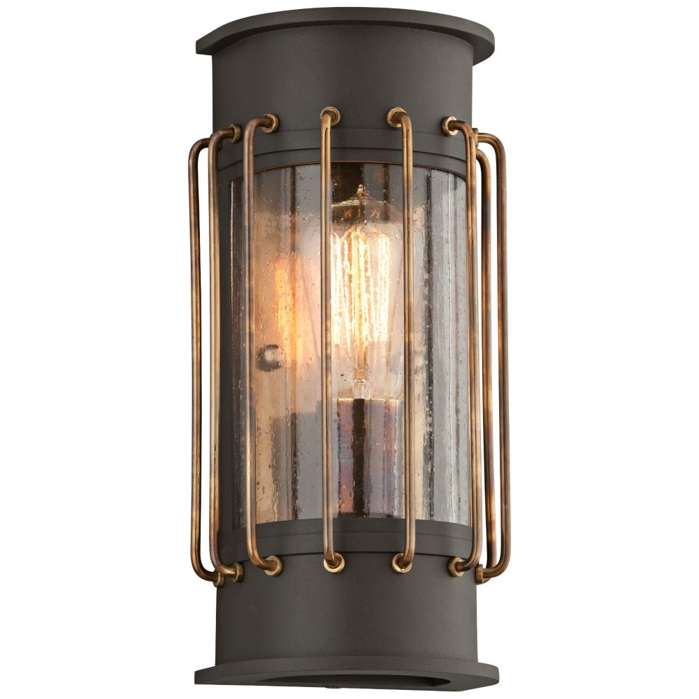 Cabot 12 H Bronze And Historic Br Outdoor Wall Light