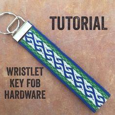 Photo of Wristlet Key Fob Tutorial
