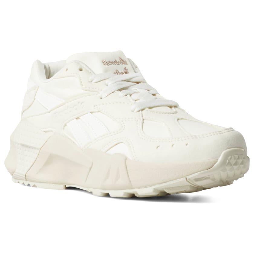4df77f75c1 Reebok Shoes Unisex Aztrek Double in Chalk/Paper Wht/Rose Gold Size ...
