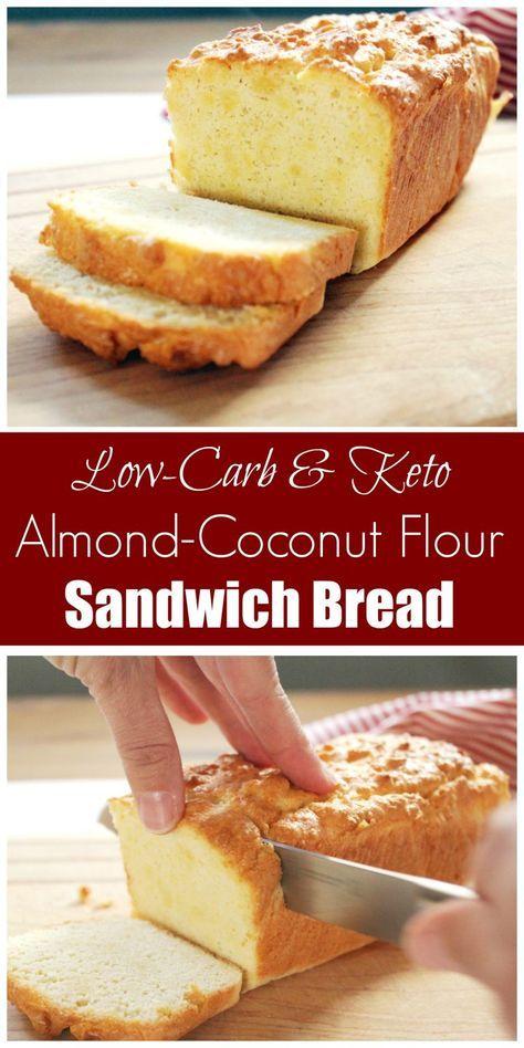 Coconut And Almond Flour Sandwich Bread Gaps Dairy Free Recipe Keto Bread Coconut Flour Coconut Flour Recipes Coconut Bread Recipe