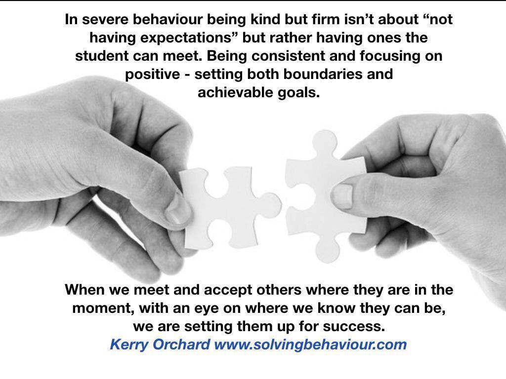 Managing Behaviour With Compassion