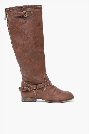Jonny Boot - Tan. Doesn't this boot look like it will go with every fall outfit?