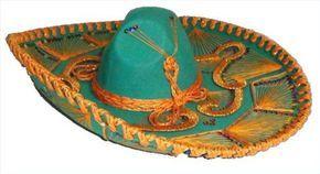 3b0465537e39a Como fazer um sombreiro de papel Decoração Mexicana